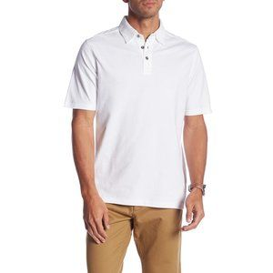 NWT Nordstrom James Campbell Stripe Knit Polo Top